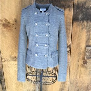 Ann Taylor Loft Military Sweater